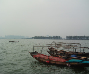 abroad, china, and lake image