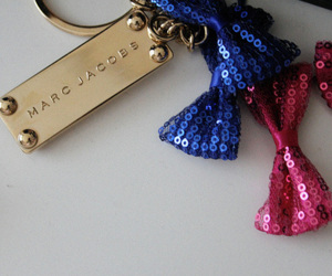 marc jacobs, pink, and blue image
