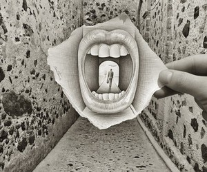 art, mouth, and photography image