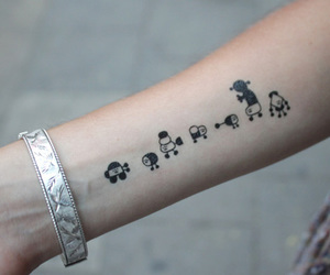 tattoo and cute image