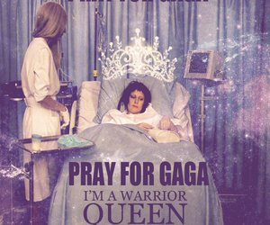 Lady gaga, pray, and Queen image