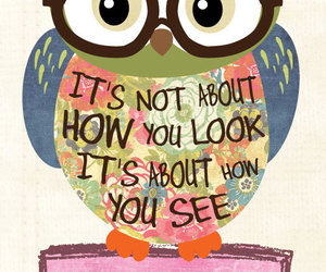 owl, quote, and cute image