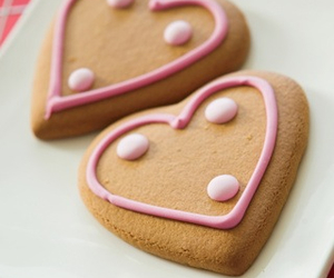 Cookies, love, and hearts image