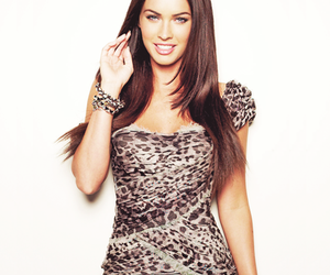 megan fox, brunette, and eyes image