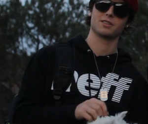 emblem3, wesley stromberg, and sampson the puppy image