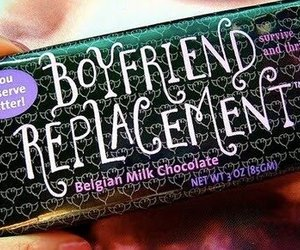 chocolate, boyfriend, and funny image
