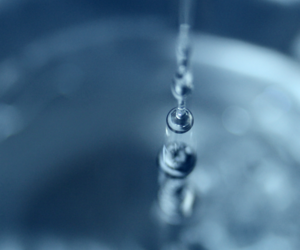blue, drops, and water image