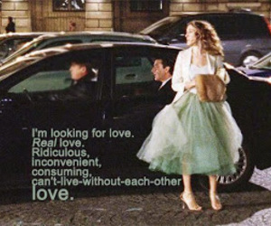 love, sex and the city, and Carrie Bradshaw image