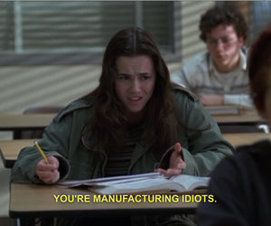 freaks and geeks, idiot, and quotes image