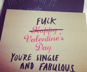 fuck, quote, and valentine image