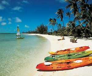 beach, summer, and bahamas image