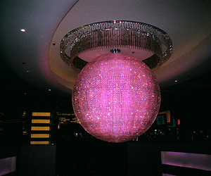 pink, disco, and party image