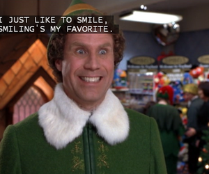 christmas, smile, and elf image