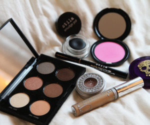 beige, make up, and eyeshadows image