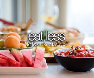 before i die, eat, and food image