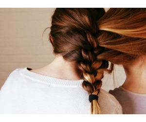 best friends, braid, and cover image