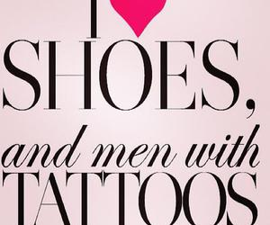 tattoo, shoes, and men image