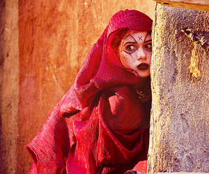 doctor who, karen gillan, and the fires of pompeii image