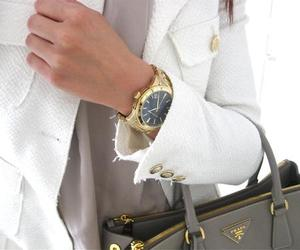 autumn, bag, and blouse image
