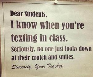 quote, school, and text image