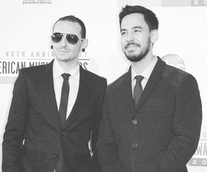 linkin park, mike shinoda, and chester bennigton image