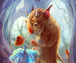 art, beauty and the beast, and picture image