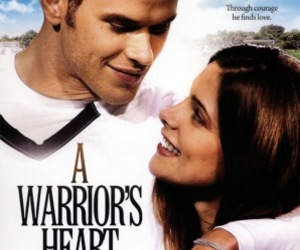 ashley greene, kellan lutz, and a warrior's heart image