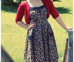 fashion, leopard print, and retro image