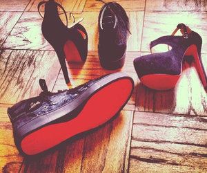 louboutin and sneakers image