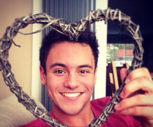 tom daley, boy, and heart image