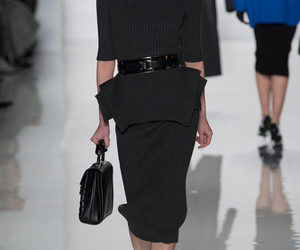 black dress, ready to wear, and michael kors fall 2013 image