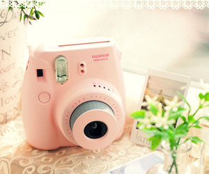 instax pink image
