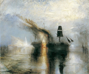 art, boat, and JMW Turner image
