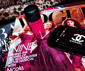 chanel, vogue, and mac image
