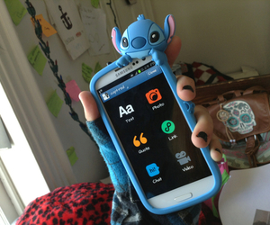 stitch, phone, and case image