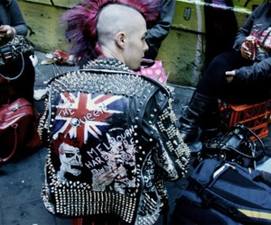 anarchy, punks, and punk image