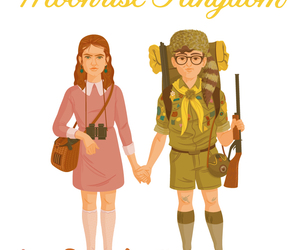 illustration, Sam, and moonrise kingdom image