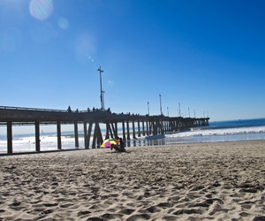 beach, Beverly Hills, and california image