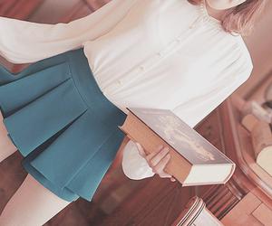korean fashion, beautiful, and book image