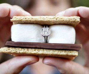 ring, smores, and chocolate image