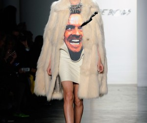 fashion, runway, and The Shining image