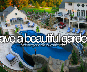 before i die and garden image