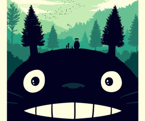 totoro, anime, and movie image