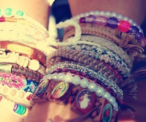 blue, Braclets, and cats image
