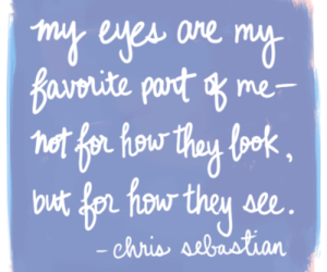 eyes, quote, and see image