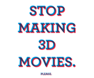 3d, movies, and text image