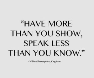 quotes, shakespeare, and life image
