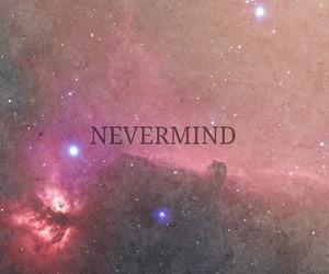 Nevermind, galaxy, and stars image