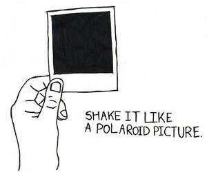 picture, polaroid, and shake it image