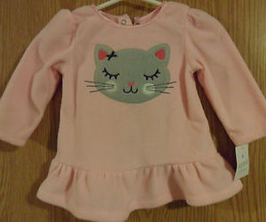 baby, cat, and fashion image
